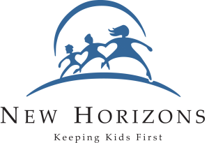 New Horizons logo - trail ride itinerary